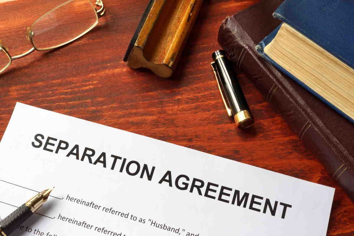 Separation Agreement – What is it & Why is it important?