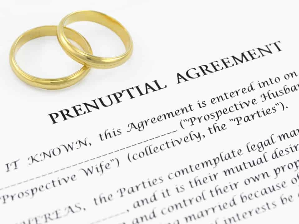 """Saying, """"I Do"""" To A Marriage Contract"""