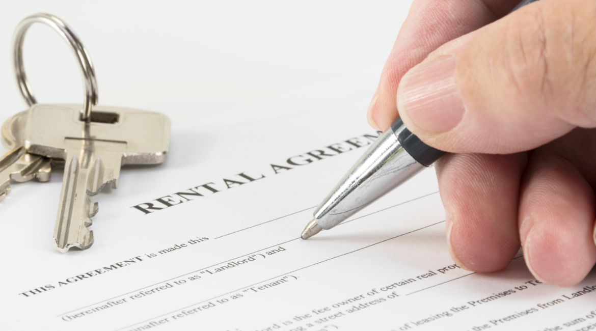 Signing a Lease Agreement